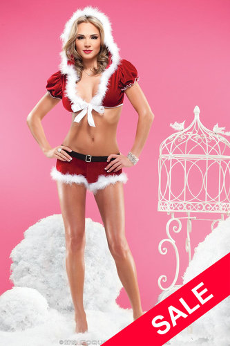 Bolero & Short X-Mas Coquette Holiday