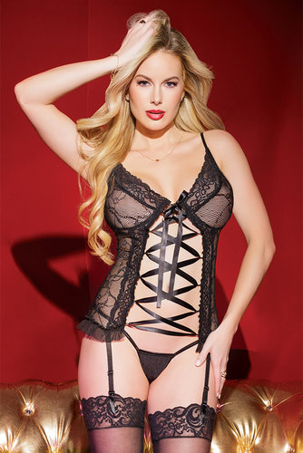Bustier Coquette Holiday