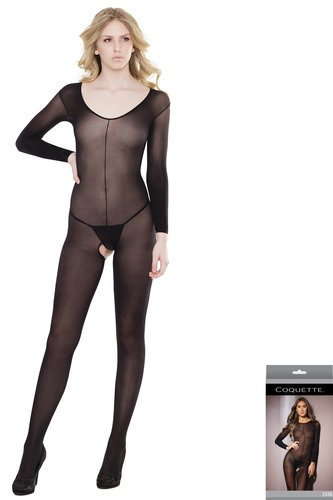 Body Stocking ouvert Long Sleeve  Coquette