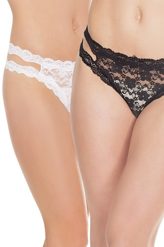 Thong Ouvert Coquette